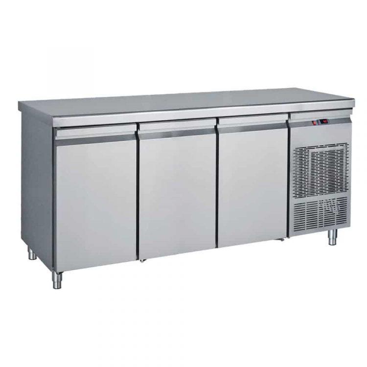 εικόνα απο ψυγείο πάγκος 185χ70χ85 με 3 πόρτες