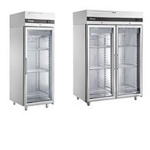 Ψυγεία θάλαμοι με γυάλινες πόρτες
