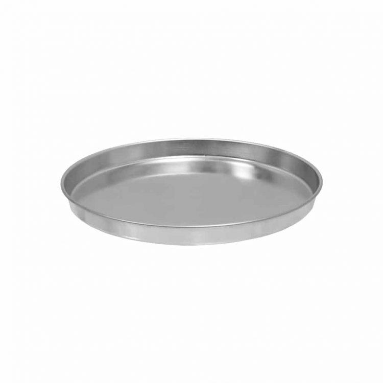 Εικόνα από Ταψί Πίτσαs Αλουμινίου Φ30cm. ΠΡΟΣΟΧΗ: Ωφέλιμη διάμετρος βάσης Φ28cm. Ελληνικής Κατασκευής