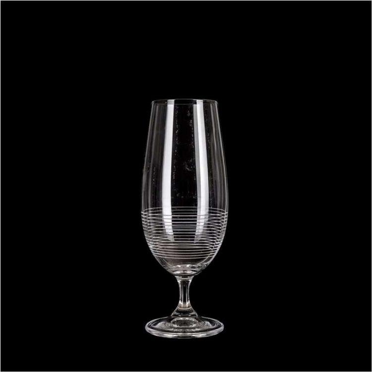Εικόνα από Ποτήρι κρυσταλλίνης Βοημίας διακοσμημένο 37cl σειρά leona Maison Fiorine