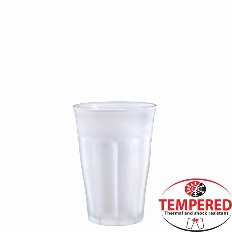 Εικόνα από Γύαλινο Ποτήρι 36cl, Φ8.8x12.4cm, Διάφανο Πάγου, Tempered, Σειρά Picardie, DURALEX Από γυαλί ασφαλείας (tempered glass) Γυαλί που έχει υποστεί θερμική επεξεργασία σκλήρυνσης η οποία βελτιώνει την μηχανική αντοχή του, την θερμική του αντίσταση και τις ιδιότητες ασφαλής θράυσης.